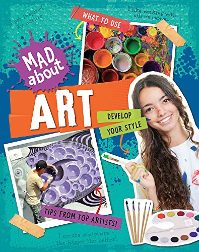 Mad About: Art By Hachette Children's Books
