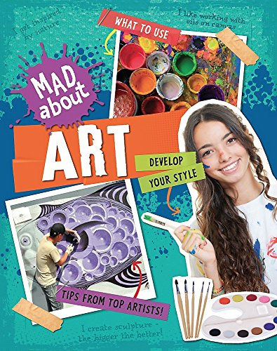 Mad About: Art By Hachette Children's