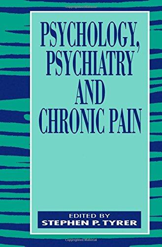PSYCHGL PSYCHTRC ASPCTS CHRNC PAIN By S P Tyrer