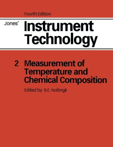 Instrument Technology By E.B. Jones