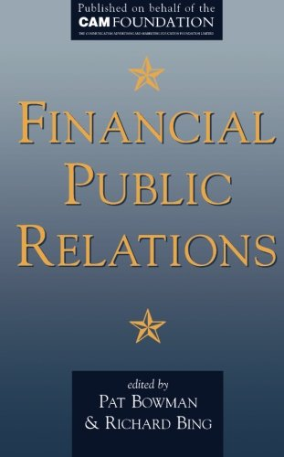 Financial Public Relations By Pat Bowman