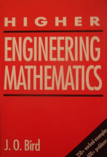 Higher Engineering Mathematics By John O. Bird