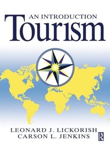 Introduction to Tourism By Leonard J Lickorish