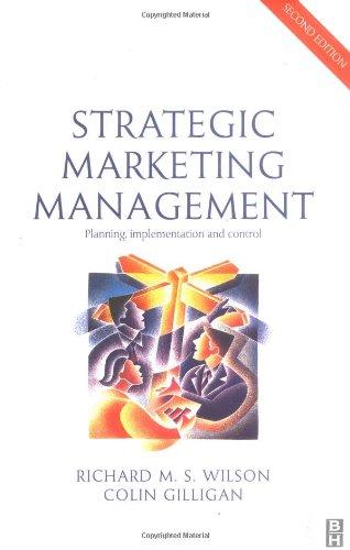 Strategic Marketing Management By R.M.S. Wilson