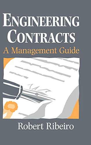 Engineering Contracts By Robert Ribeiro
