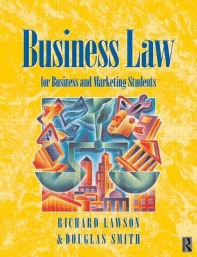 Business Law By Douglas Smith