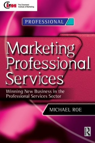 Marketing Professional Services By Michael Roe