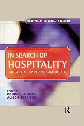 In Search of Hospitality By Edited by Conrad Lashley