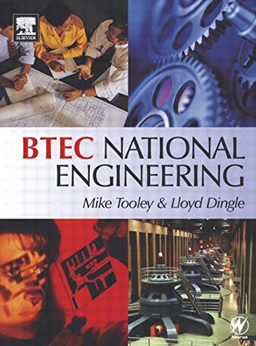 BTEC National Engineering By Michael H. Tooley