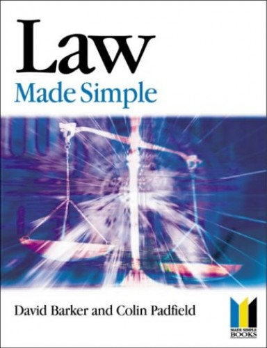 Law Made Simple (Made Simple Series) By David Barker