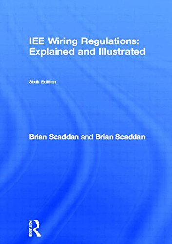 Tremendous Iee Wiring Regulations Explained And Illustrated A Practical Guide Wiring Digital Resources Funapmognl