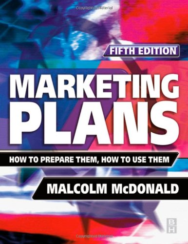 Marketing Plans By Malcolm McDonald