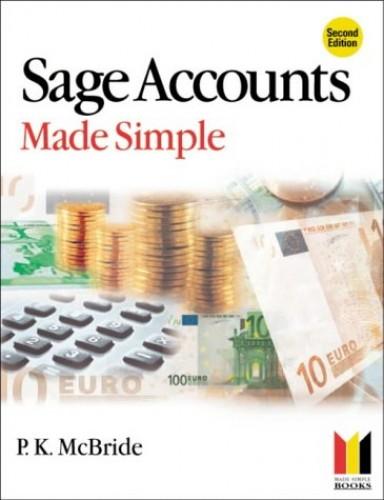 Sage Accounts Made Simple (Made Simple Computing) By P. K. McBride