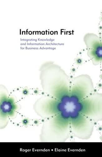 Information First By Elaine Evernden