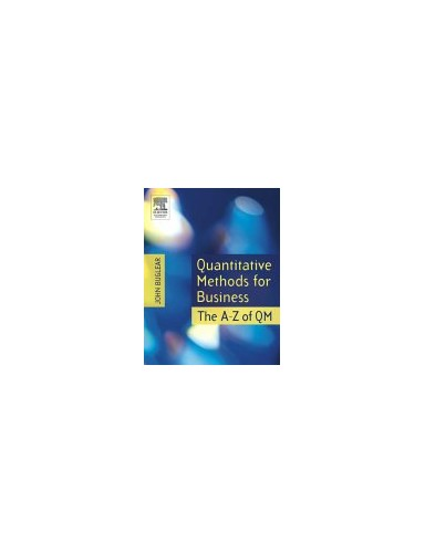 Quantitative Methods for Business By John Buglear