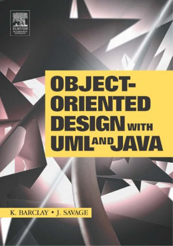 Object-Oriented Design with UML and JAVA by Kenneth A. Barclay