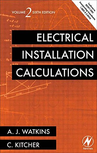 Electrical Installation Calculations By A. J. Watkins