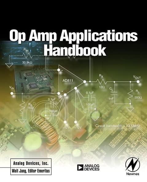 Op Amp Applications Handbook (Analog Devices Series) By Walt Jung