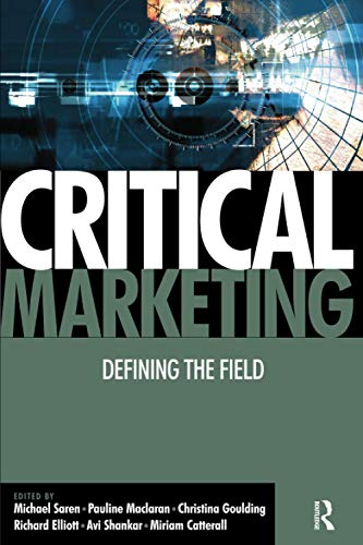 Critical Marketing By Pauline Maclaran