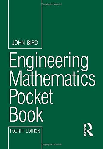Engineering Mathematics Pocket Book, 4th ed (Newnes Pocket Books) By John Bird