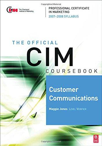 Customer Communications By Maggie Jones