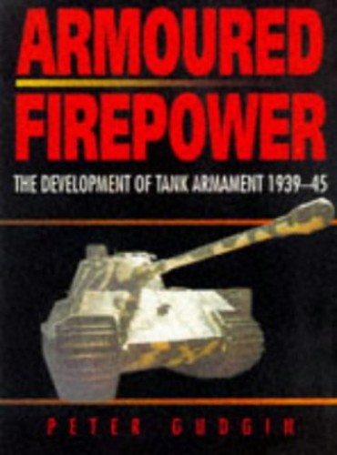 Armoured Firepower By Peter Gudgin