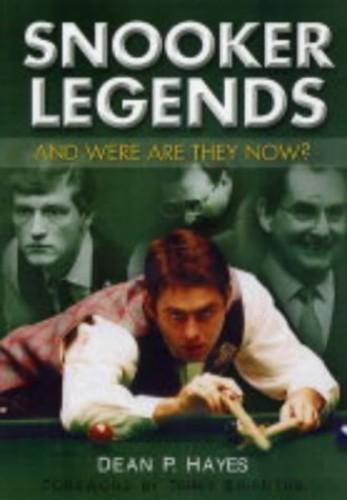 Snooker Legends By Dean Hayes