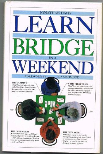 Learn In A Weekend:16 Bridge By Jonathan Davis