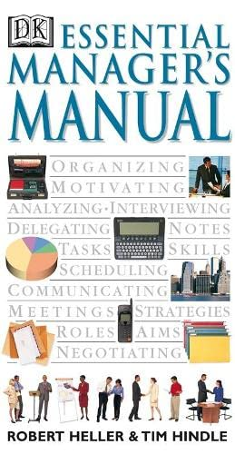 Essential Manager's Manual By Robert Heller