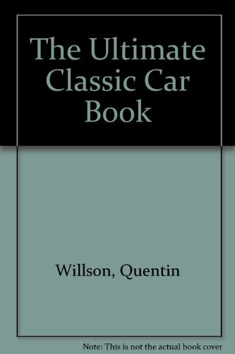 Millennium Silver Classic:  Ultimate Classic Car By Quentin Willson