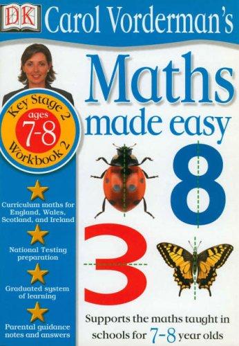 Maths Made Easy:  Age 7-8 Book 2 By Carol Vorderman