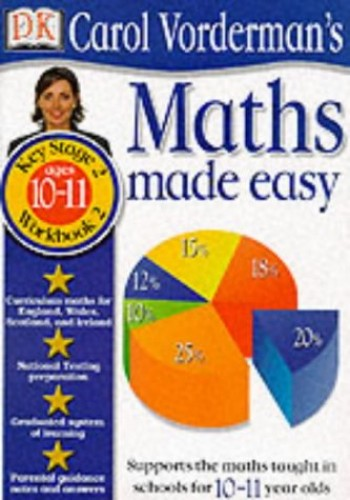 Maths Made Easy:  Age10-11 Book 2 By Carol Vorderman