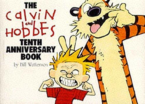 Calvin & Hobbes:Tenth Anniversary Book By Bill Watterson
