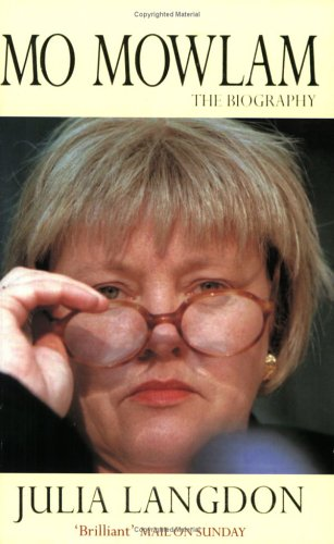 Mo Mowlam By Julia Langdon
