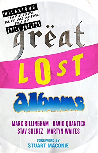 Great Lost Albums by Mark Billingham