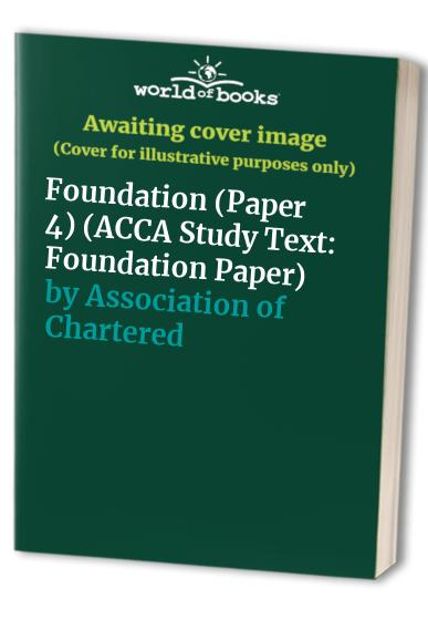 ACCA Study Text By Association of Chartered Certified Accountants