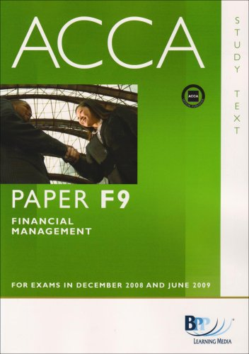 ACCA - F9 Financial Management By BPP Learning Media