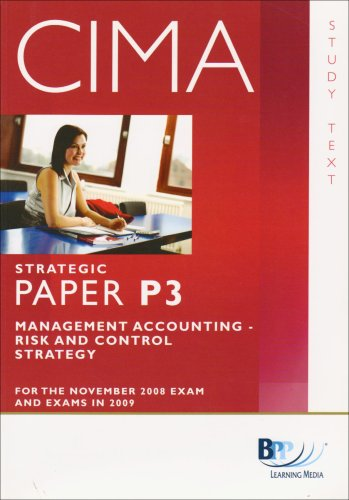 CIMA - P3: Management Accounting: Risk and Control By BPP Learning Media