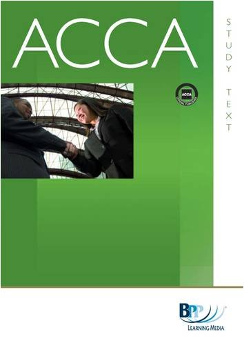 ACCA - P1 Professional Accountant By BPP Learning Media