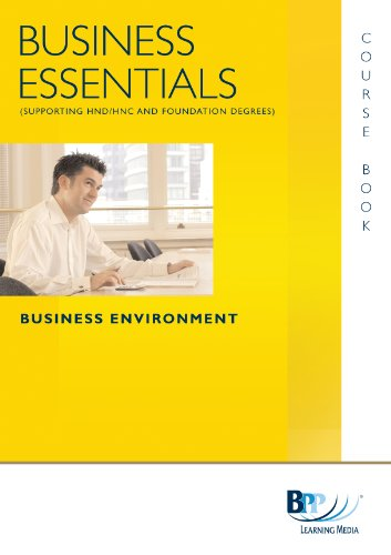 Business Essentials - Business Environment: Study Text by BPP Learning Media
