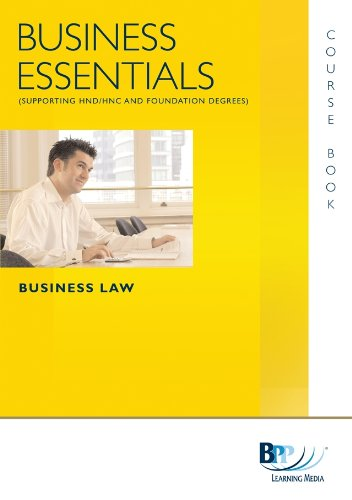 Business Essentials Business Law By BPP Learning Media