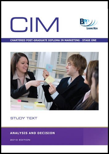 CIM - Analysis and Decision By BPP Learning Media