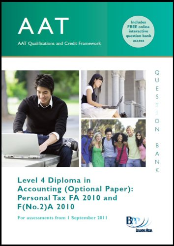 AAT - Personal Tax FA2010 By BPP Learning Media
