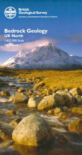 Bedrock Geology UK North (Small Scale Geology Maps)