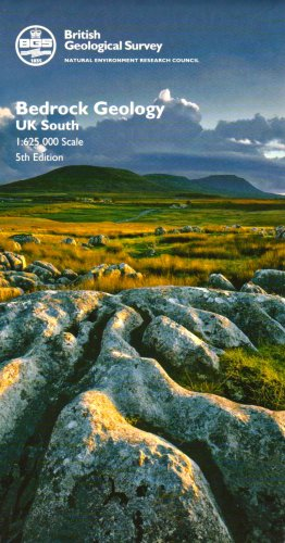 Bedrock Geology UK South (Small Scale Geology Maps)
