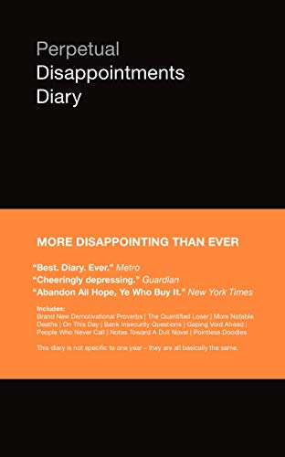 Perpetual Disappointments Diary By Nick Asbury