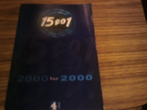 Fifteen to One:2000 for 2000 (pb) By Anon
