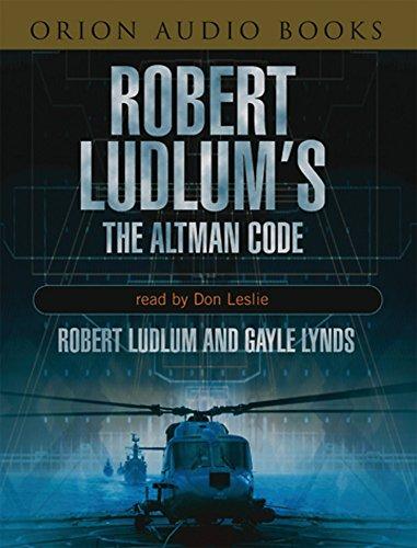 The Robert Ludlum's The Altman Code By Robert Ludlum