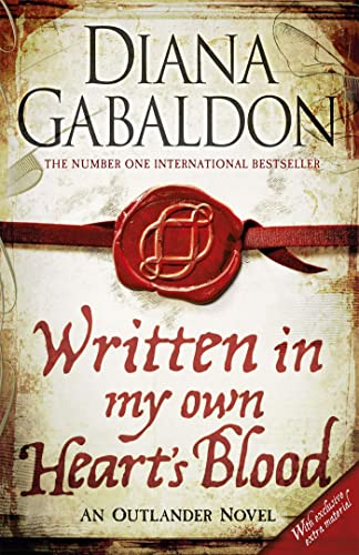 Written in My Own Heart's Blood: Outlander Novel 8 By Diana Gabaldon