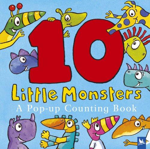 Ten Little Monsters By Jonathan Emmett